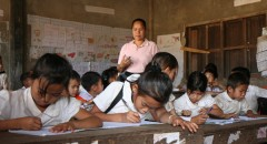 Primary education project in Laos