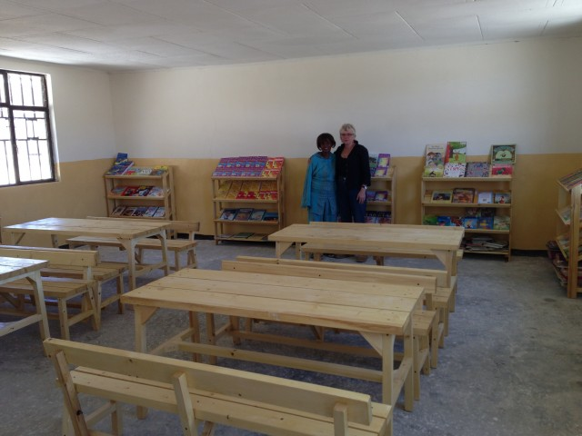 Classroom Furniture Grants ~ Grant for furniture and books school library in