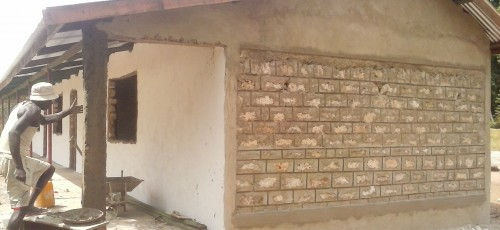 KajoKeji Educational Trust - new, well built classrooms at Muungano School, Kenya