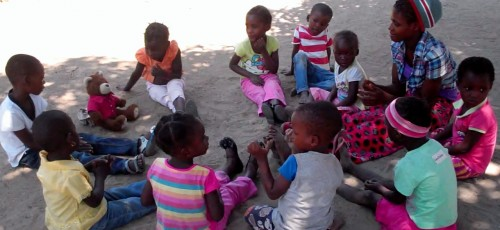 Oasis International - a community-based pre-school centre in Mozambique